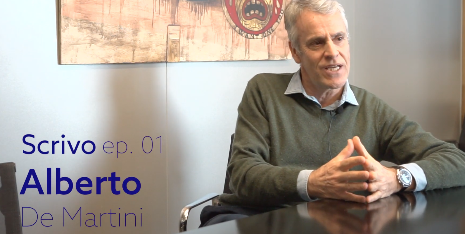 Scrivo ep. 01 - Alberto De Martini